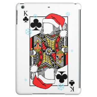 Merry Christmas King of Clubs - Add Your Images