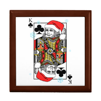 Merry Christmas King of Clubs Gift Box