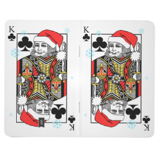 Merry Christmas King of Clubs Journal