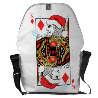 Merry Christmas King of Diamonds Commuter Bags
