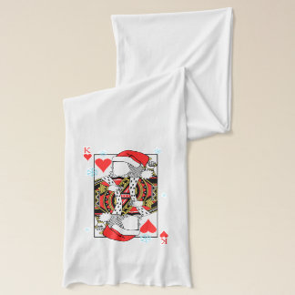 Merry Christmas King of Hearts - Add Your Images Scarf