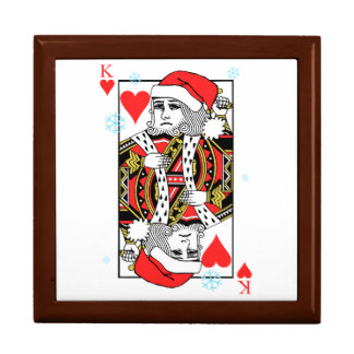 Merry Christmas King of Hearts Gift Box