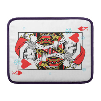 Merry Christmas King of Hearts Sleeve For MacBook Air
