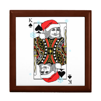 Merry Christmas King of Spades Gift Box