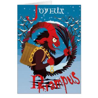 Merry Christmas: Krampus version Card
