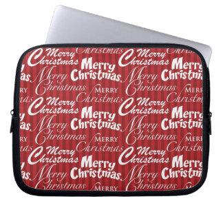 Merry Christmas Laptop & Netbook Sleeves Laptop Computer Sleeve