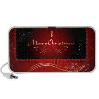 Merry Christmas Laptop Speaker