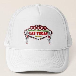 MERRY Christmas Las Vegas SHOWGIRLS Hat