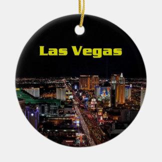 Merry Christmas Las Vegas Strip Ornament