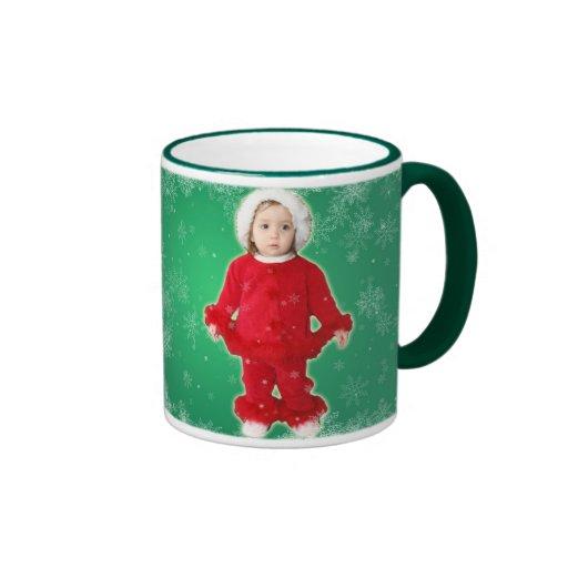 Merry Christmas little baby girl Coffee Mug