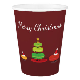 Merry Christmas Macarons | Paper Cup