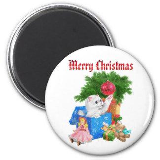 Merry Christmas Fridge Magnet