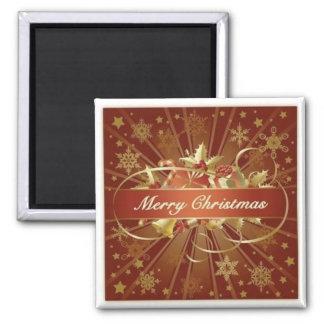 Merry Christmas Refrigerator Magnets
