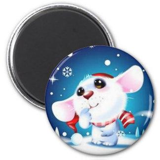 Merry Christmas - Refrigerator Magnet