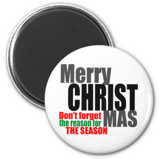 Merry Christmas Refrigerator Magnets