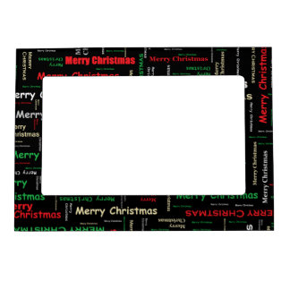 Merry Christmas! Magnetic Frame