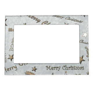 Merry Christmas Magnetic Picture Frame