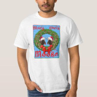 Merry Christmas Mary Chris Moose Shirts