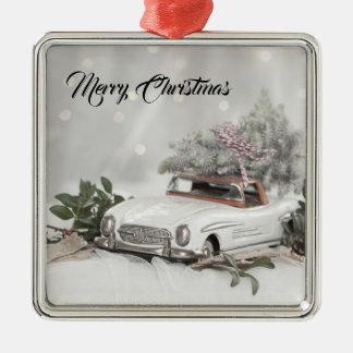 Merry Christmas Mercedes Benz Ornament