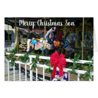 MERRY CHRISTMAS&MISS ***SON*** CARD