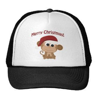 Merry Christmas Monkey Hat