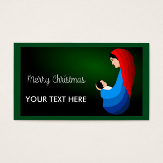 """""""MERRY CHRISTMAS"""" MOTHER AND CHILD"""