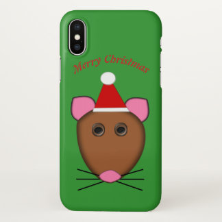 Merry Christmas Mouse Custom iPhone case