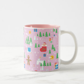 Merry Christmas mug. Two-Tone Coffee Mug