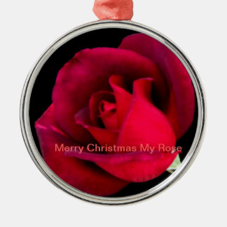 Merry Christmas My Rose Ornament