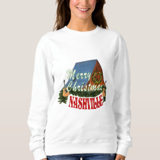 Merry Christmas Nashville Women's Sweatshirt