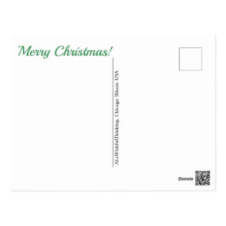 Merry Christmas!  (-no address-) Postcard