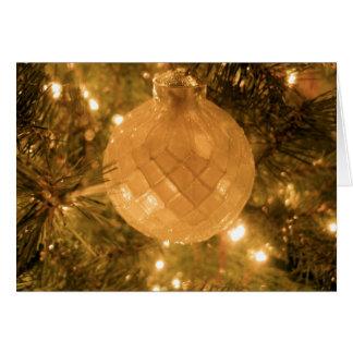Merry Christmas - Ornament Card