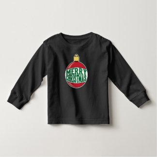 Merry Christmas Ornament Toddler T-Shirt