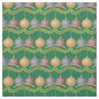 Merry Christmas ornaments I Fabric