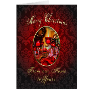Merry Christmas - Our Home to Yours Card