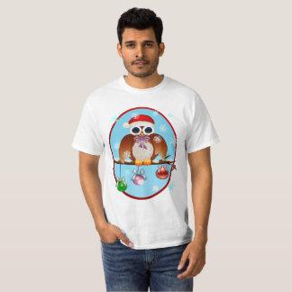Merry Christmas Owl T-Shirt