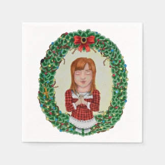 Merry Christmas Paper Napkins