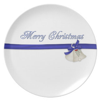 Merry Christmas Party Plates