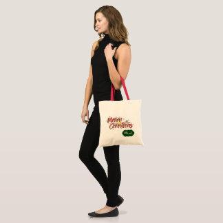 Merry Christmas Personalised Tote Bag