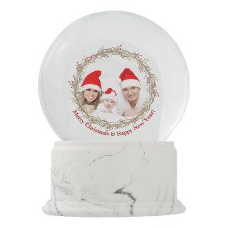 Merry Christmas Photo gift Snow Globe