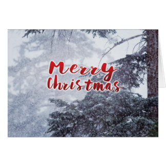 Merry Christmas | Photo Greeting Card