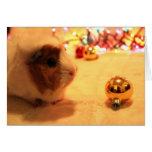 Merry Christmas Pig Greeting Card
