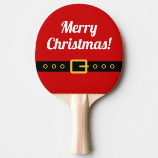 Merry Christmas ping pong paddle for table tennis