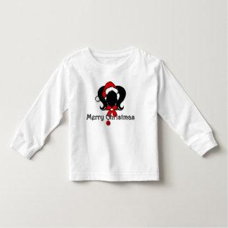 Merry Christmas Ponytails Tee Shirt
