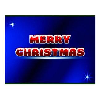 Merry Christmas Postage Stamp ~.jpg Postcard