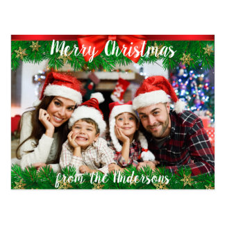 Merry Christmas Postcard