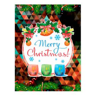 """""""Merry Christmas!"""" Postcard"""