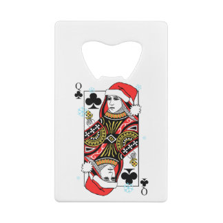 Merry Christmas Queen of Clubs