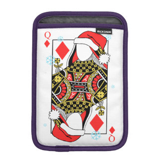Merry Christmas Queen of Diamonds-Add Your Images Sleeve For iPad Mini