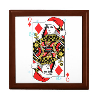 Merry Christmas Queen of Diamonds Gift Box
